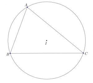Xác định tâm đường tròn ngoại tiếp tam giác