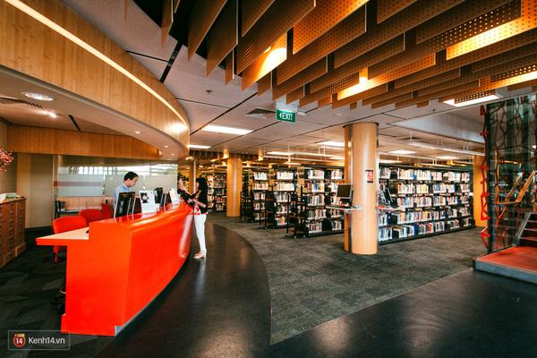 Toàn cảnh thư viện ĐH RMIT