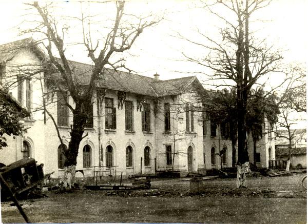 Trại Ma-rin Doanh trại đầu tiên của Học viện Hải quân