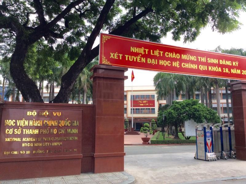 Học viện hành chính Quốc gia Hồ Chí Minh