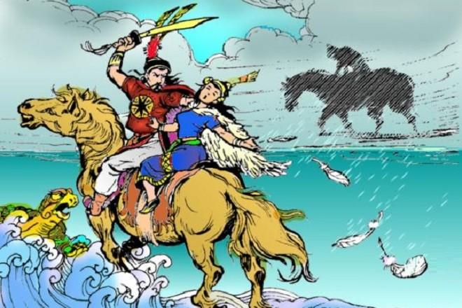 Cảm nhận về Trọng Thủy trong truyền thuyết An Dương Vương và Mị Châu- Trọng Thủy- CungHocVui