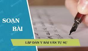 Cách làm bài viết văn tự sự và miêu tả - Soạn văn 7