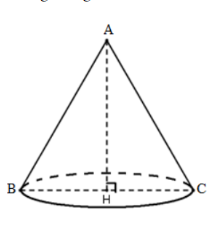 bài tập 5 hình nón, thể tích hình nón