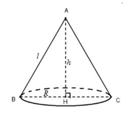 bài tập hình nón, thể tích hình nón
